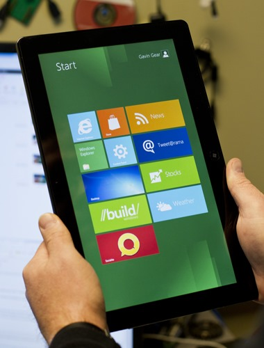 tablet com windows 8