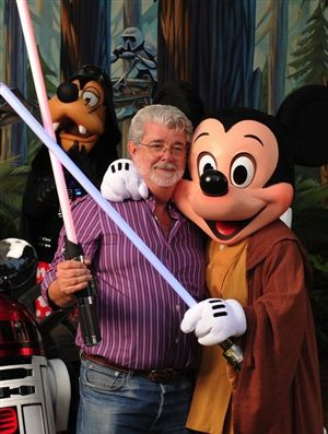 lucas mickey star wars